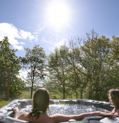 Bubbelpool, bastu & Relax