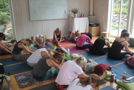 17-19 juli: Sommarretreat med yinyoga och meditation (max 10 deltagare)